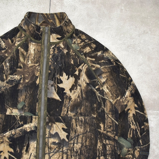 Columbia camouflage reversible fleece jkt