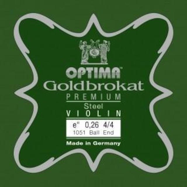 オプティマ / ゴールドブロカット プレミアム・スチールE線 0.26 ループエンド