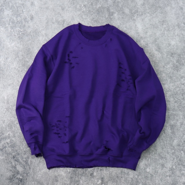 """ BORO ""   Sweat  Shirt   PURPLE B82"