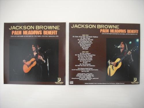 【2CDR】JACKSON BROWNE / PALM MEADOWS BENEFIT