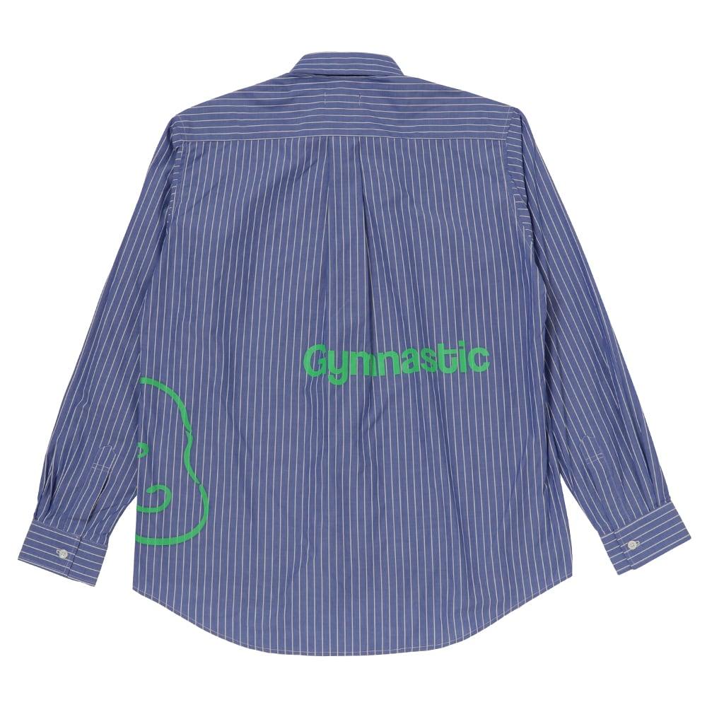 Stripe shirts / Blue - 画像2