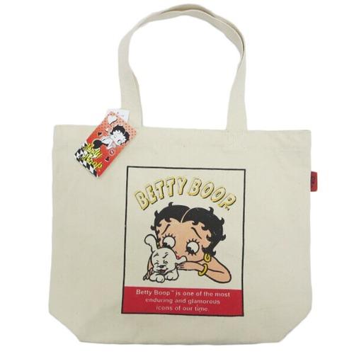 【Betty Boop】ベティ・ブープ トートバッグ (ベティ&パジー/STPBB-071)