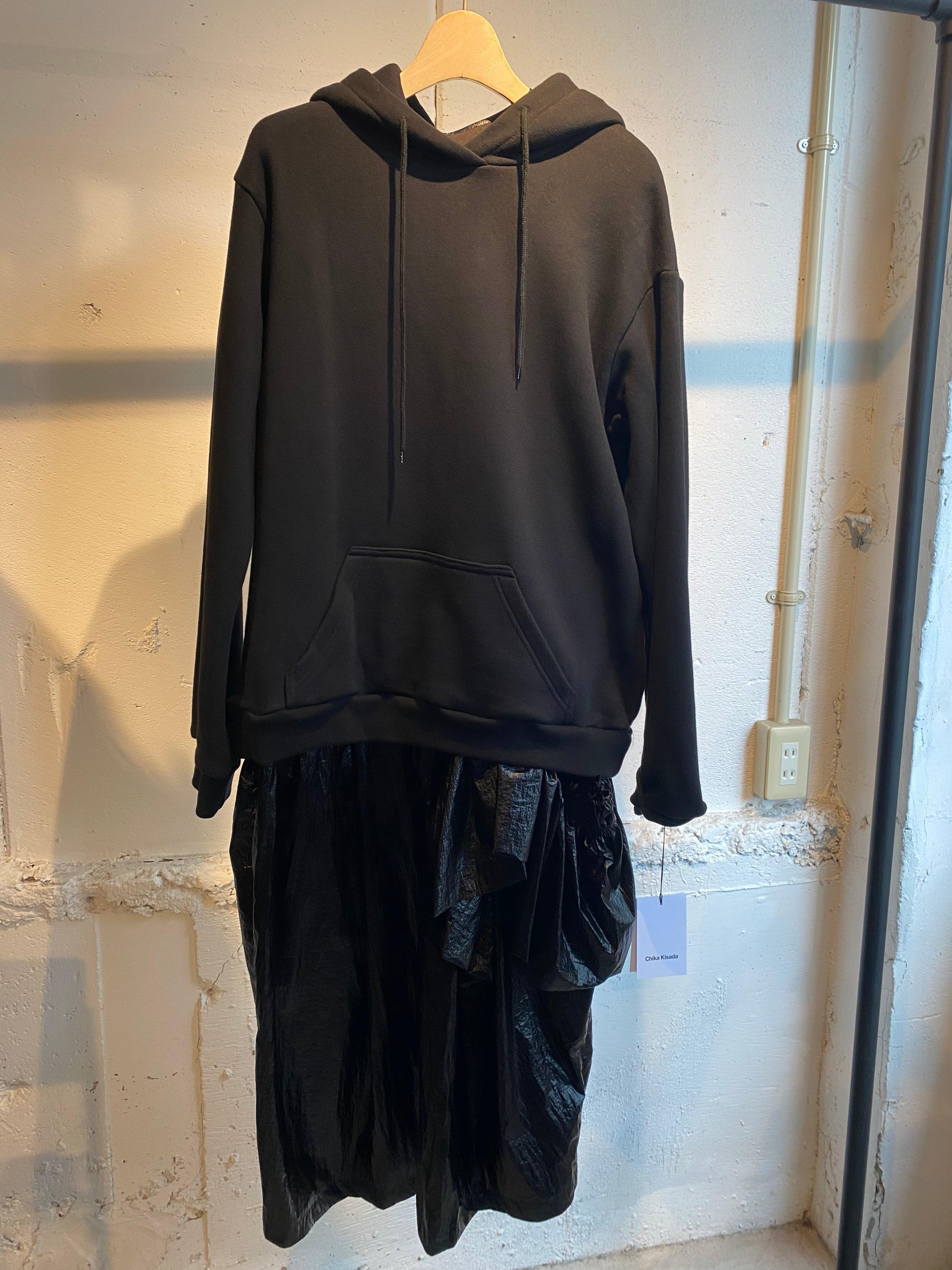 CHIKA KISADA  hoodie mylon op  2p set