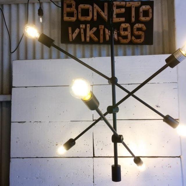 TOPANGA Lighting バランスシャンデリア ブラック