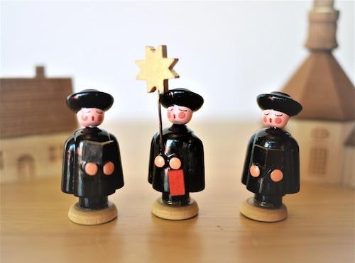 聖歌隊クレンデ 木製クリスマス飾り 東ドイツGDR