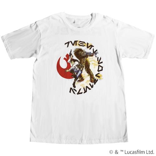 【スター・ウォーズ】ハン・ソロ & チューバッカ 両面プリントTシャツ