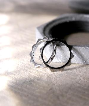 Y1901KHRG01【YArKA/ヤーカ】[two pcs one series]  stads ring<nikoichi1>/[ニコイチシリーズ]スタッズリング