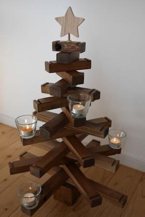 【2022年11月中お届け分】木製クリスマスツリー