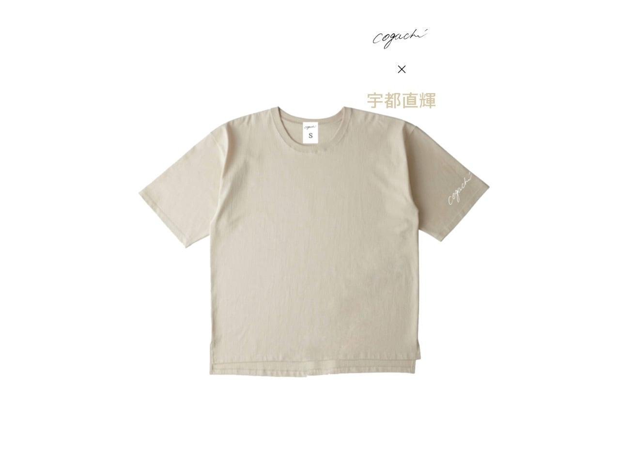 宇都直輝 Special Edition Collection logo big T-shirts (BGE)
