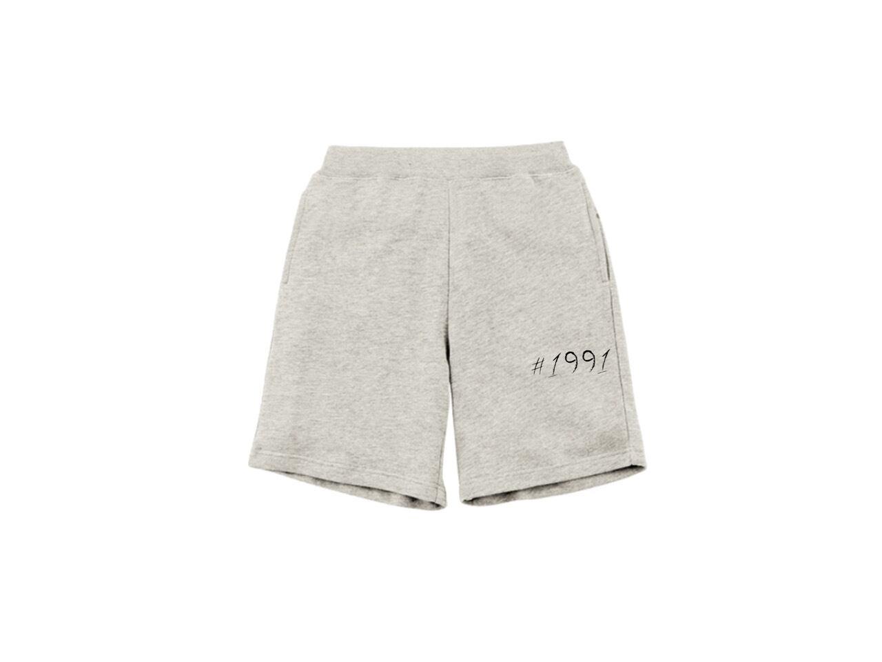 #1991 sweat short pants (GY)