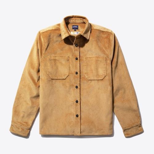 Heavy Duty Corduroy Shirt Jacket(Fawn)