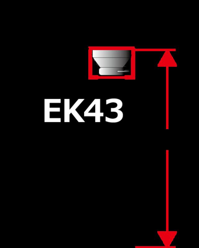 ビーンファンネル●MAHLKONIG EK43/K30用 Lサイズ マットブラック マールクーニク