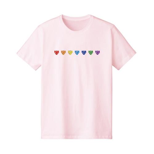 ブリーフTシャツ|シャーベットピンク