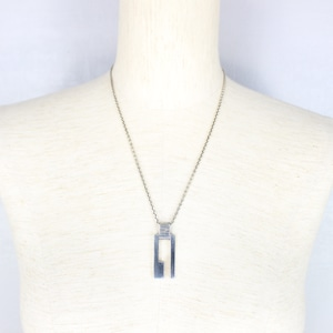 .GUCCI SILVER CHAIN NECKLACE MADE IN ITALY/グッチシルバーネックレス2000000052502