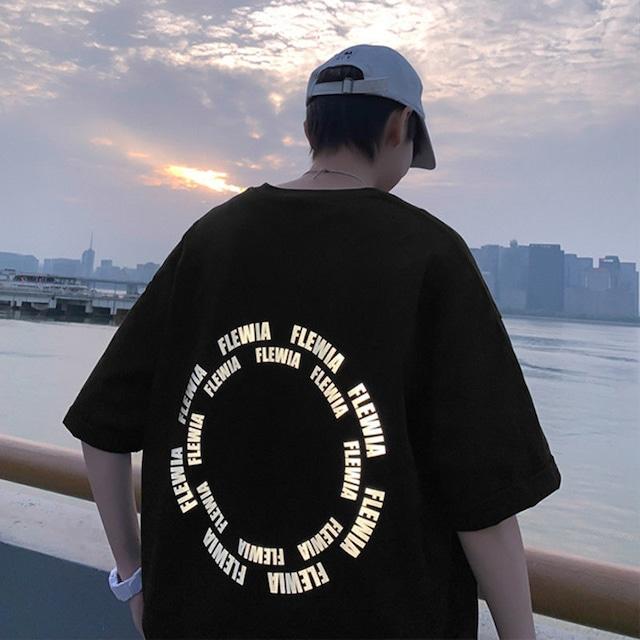 【トップス】ストリートプリント半袖Tシャツ47232620