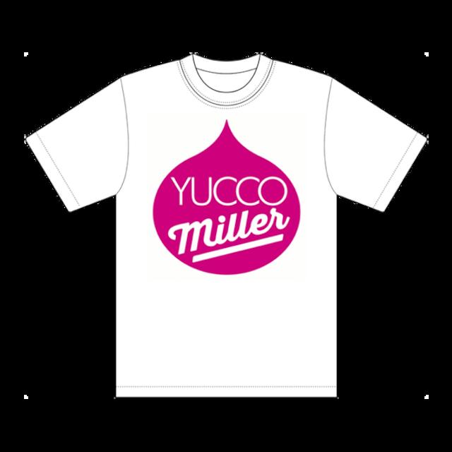 「YUCCO MILLER」Tシャツ (ホワイト)