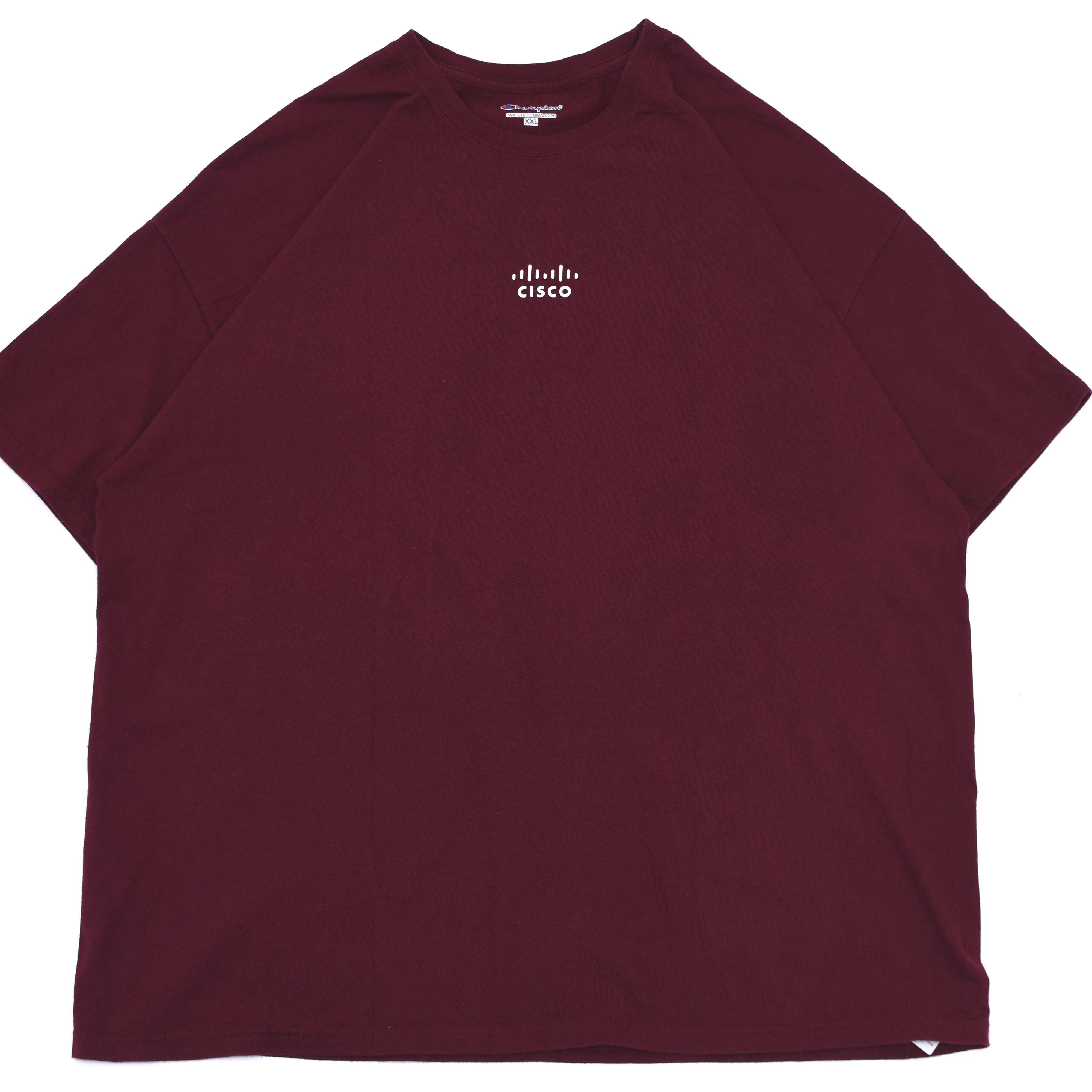 00's champion preshrunk cotton T shirt