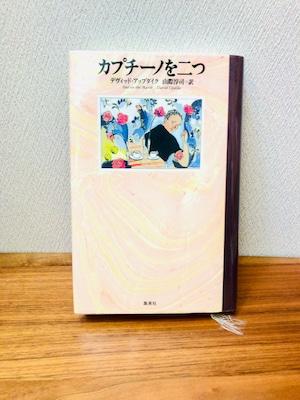 「カプチーノを二つ」デヴィッド・アップダイク著 山際淳司訳(単行本)