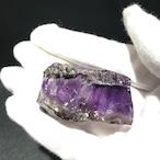激レアの美しさ アメジストエレスチャル原石