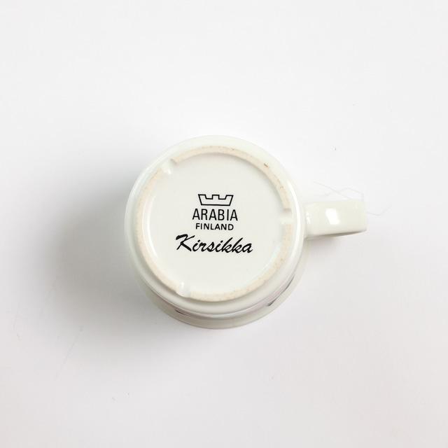 ARABIA アラビア Kirsikka キルシッカ コーヒーカップ - 1 北欧ヴィンテージ ☆わけあり☆