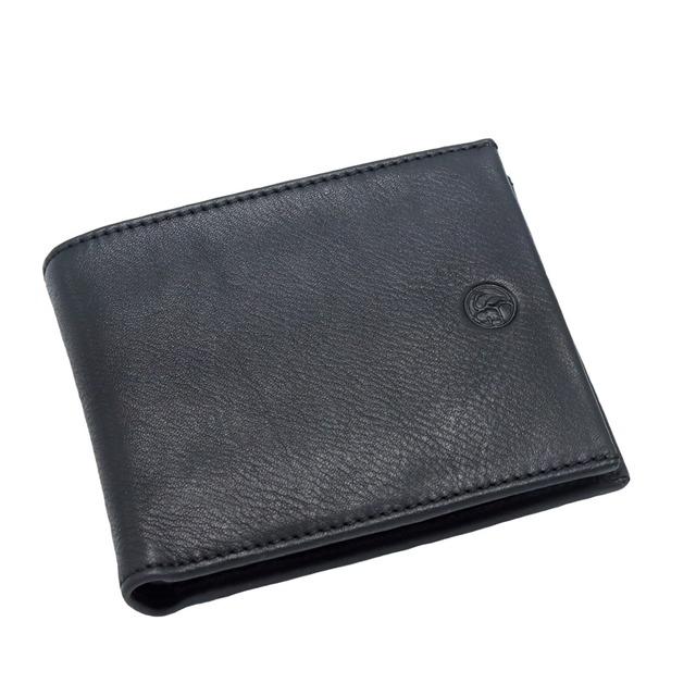 【マルケッティ】イタリア製 本革 2つ折り財布 7148