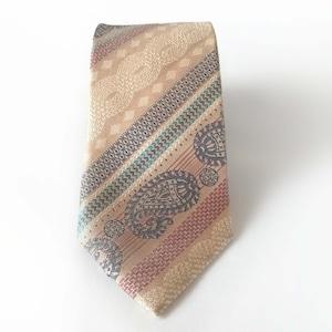 Knitter's Paisley ニットとペイズリー柄のボヘミアンネクタイ-0019