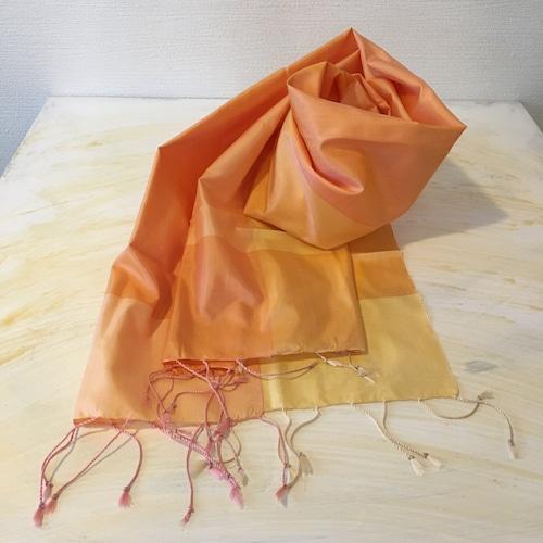 オレンジ カンボジアシルクショール