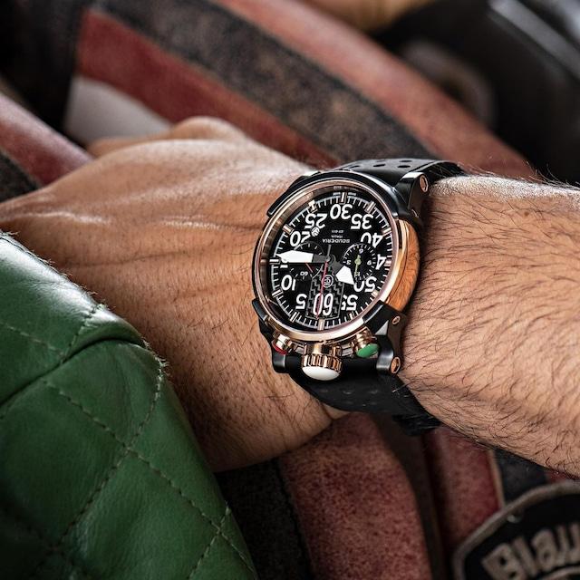 【CTスクーデリア】CWEG00819/BULLET HEAD SATURNO(ブラック)/国内正規品 腕時計