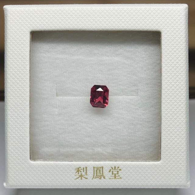 ガーネット 八角形 1.70ct ⑤ ★オリジナルルースボックスでお届けします