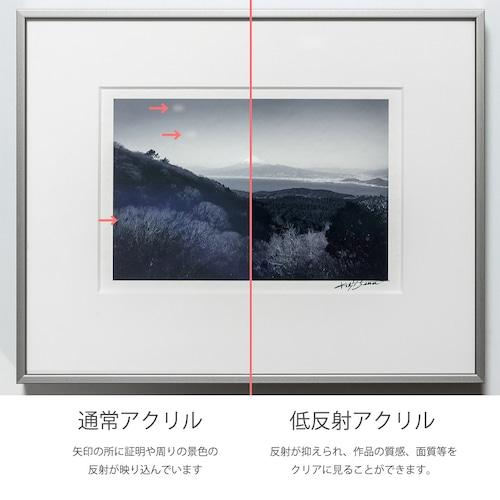 特殊低反射アクリル額装 16x20 インチ(単品販売不可)