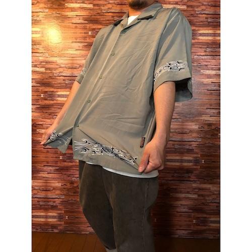 00's Sapphire Spolinge トライバル b-boyシャツ