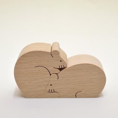 十二支のカップル ネズミ