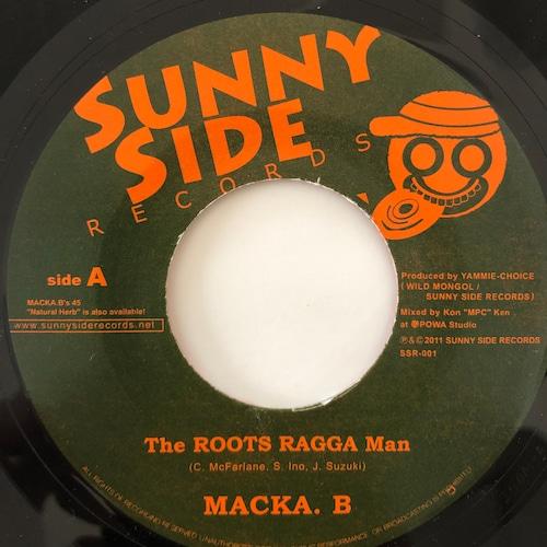 Macka B(マッカB) - Roots Ragga Man【7-20061】