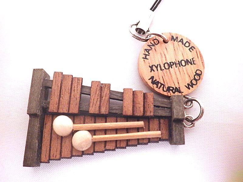 木琴 木製楽器ストラップ