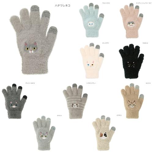 猫手袋(スマホ対応フリーサイズネコ)