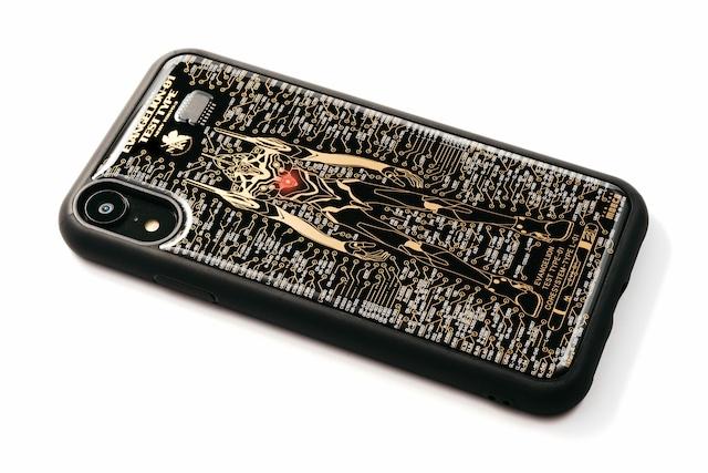 FLASH EVA01 iPhone XRケース 黒【東京回路線図A5クリアファイルをプレゼント】