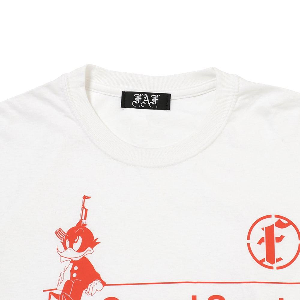 Practice uniform tee (FAFxSound Sports) / White - 画像2