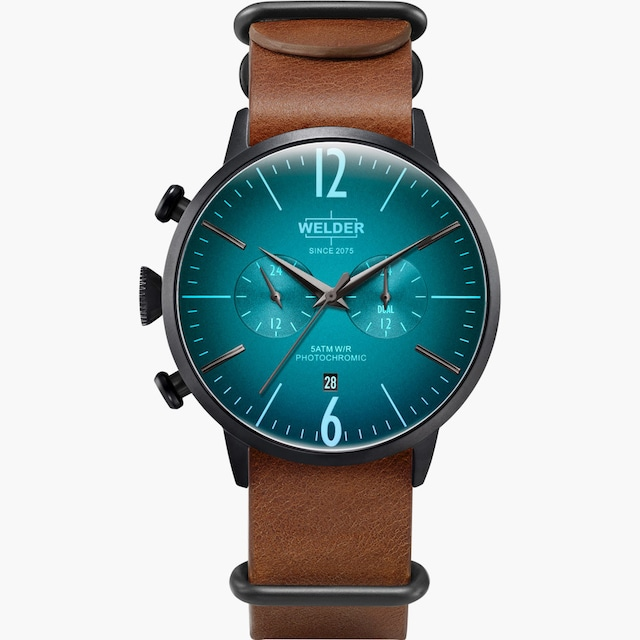 【WELDER ウェルダー】WWRC503/MOODY DUAL TIME 45mm ムーディー デュアルタイム/国内正規品 腕時計