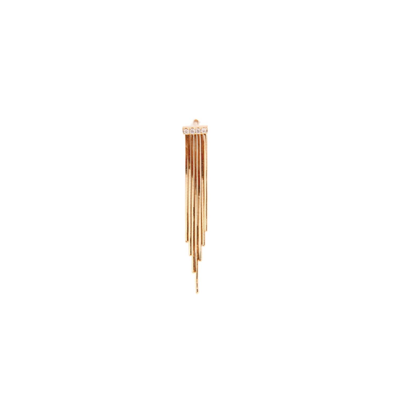 talkative/fringe pierce long(片耳)