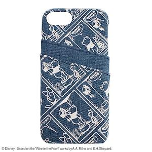 PRINT/POOH iPhone CASE/YY-D020 BL