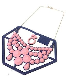 LITTLE RAYMOND PVCラバーアクセサリーキット PINKダイヤモンド