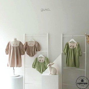 «sold out» guno bambi one-piece 2colors バンビワンピース