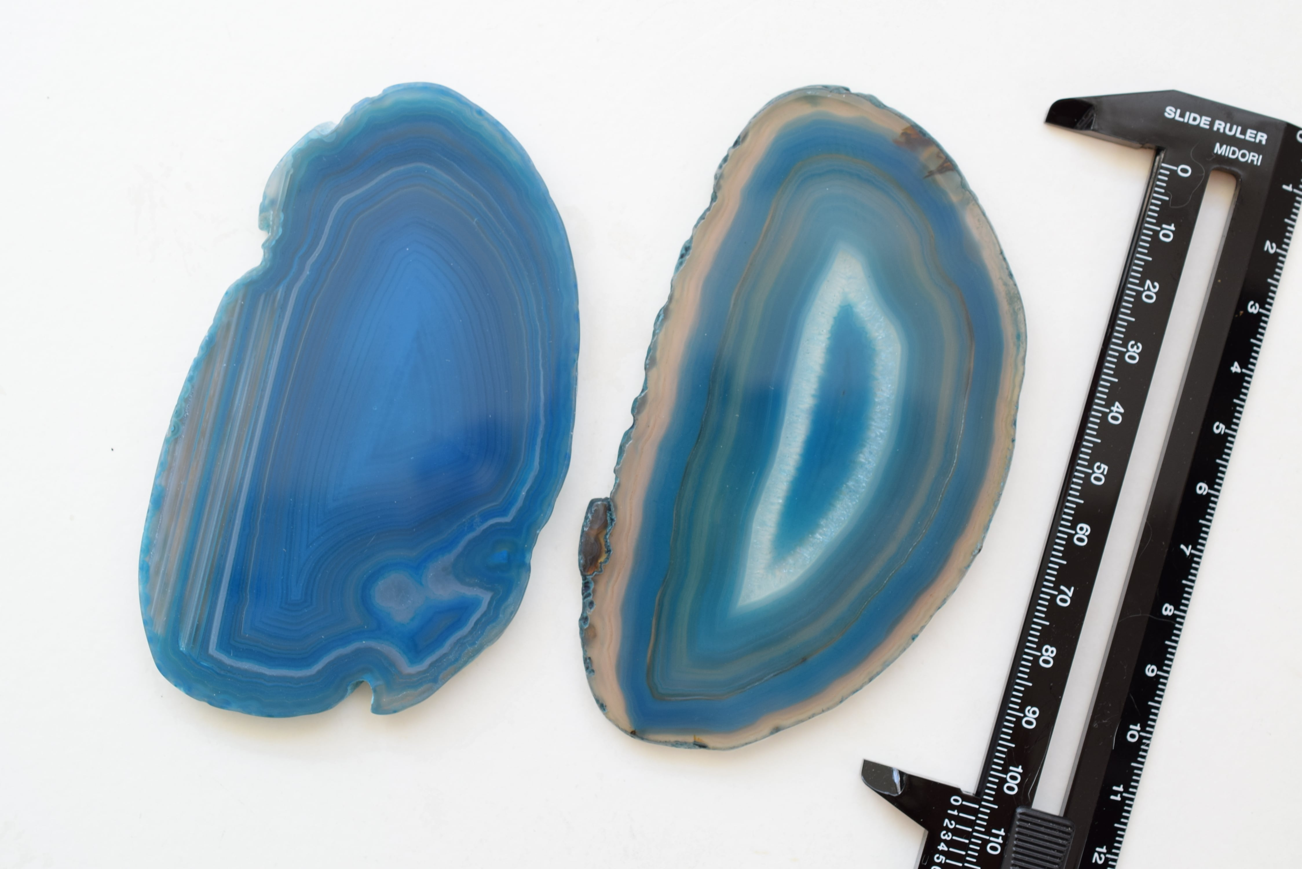 Big Size Agate slice  -Turquoise-/ビッグサイズ アゲートスライス ターコイズ