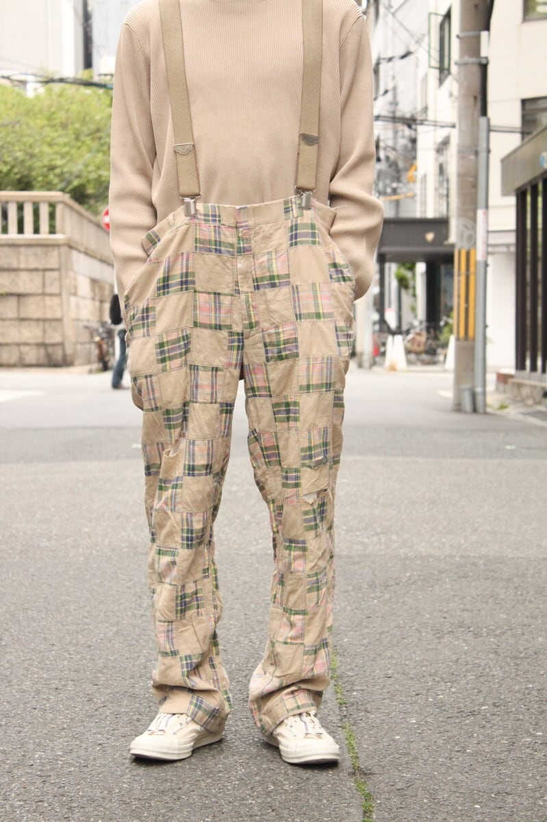 60's patchwork junk pants