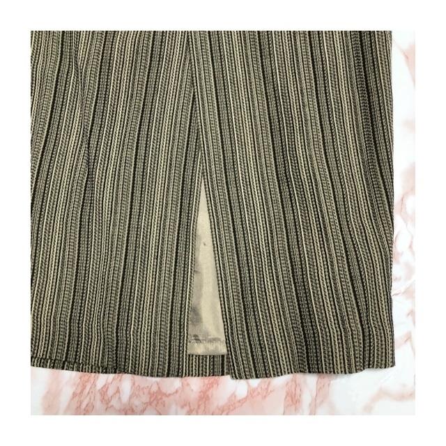 90s easy long slit skirt