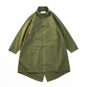 【HARVESTY】MILITARY OVER COAT (UNISEX) ミリタリーコート コート オーバーコート ユニセックス ハーベスティ 日本製 MADE IN JAPAN