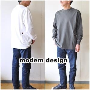 modemdesign モデムデザイン 長袖カットソー 2010859 長袖ロンT Tシャツ