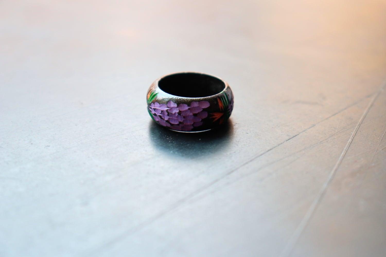 ヴィンテージリング / 藤の花