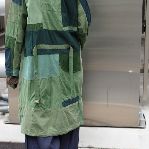 【ethical hippi】OD cache-coeur coat   / 【エシカル ヒッピ】OD カシュクールコート