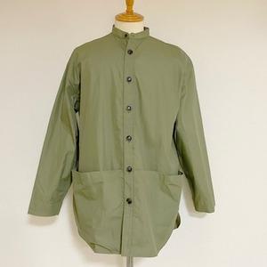 Gristone-W Cotton×Nylon Gabardine Gardening Coat Army Green